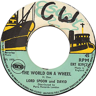 ERT 839-2 Lord Spoon And David - The World On A Wheel