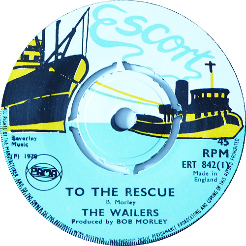 ERT 842-1 The Wailers - To The Rescue