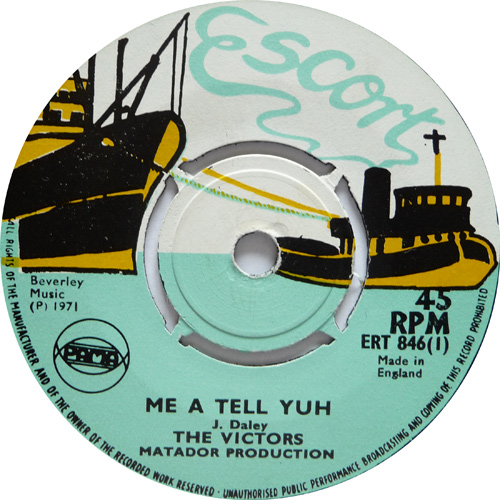 ERT 846-1 The Victors - Me A Tell Yuh