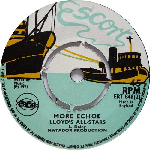 ERT 846-2 Lloyd\'s All Stars - More Echo