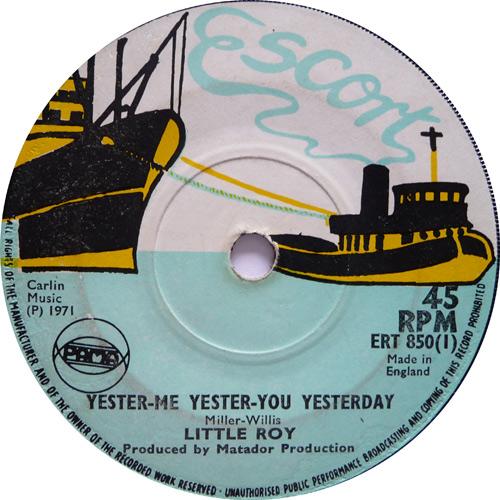 ERT 850-1 Little Roy - Yester Me, Yester You, Yesterday