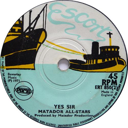 ERT 850-2 Matador All Stars - Yes Sir