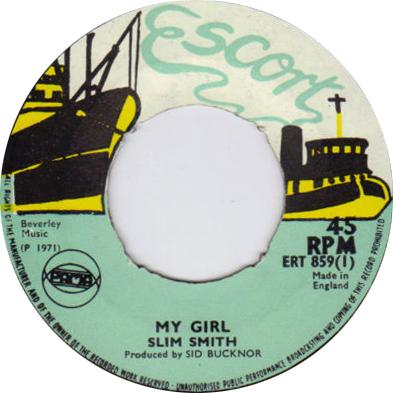 ERT 859-1 Slim Smith - My Girl