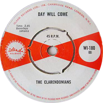 Clarendonians - A Day Will Come