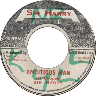 Sir Harry - Ambitious Man