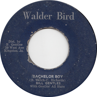 Bill Gentles - Bachelor Boy
