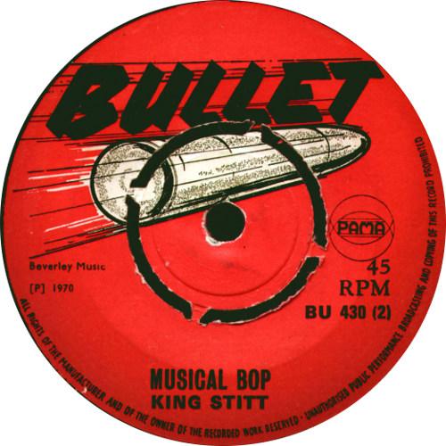 King Stitt - Musical Bop
