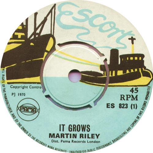 ES823A Martin Riley – It Grows