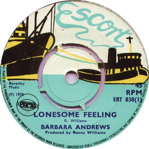 ERT838A Barbara Andrws - Lonesome Feeling