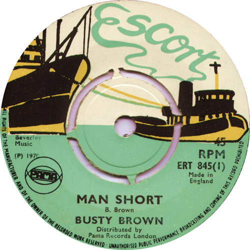 ERT845A Busty Brown - Man Short