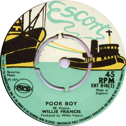 ERT848B Willie Francis - Poor Boy