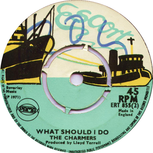 ERT855B Dave Barker And The Charmers - What Should I Do