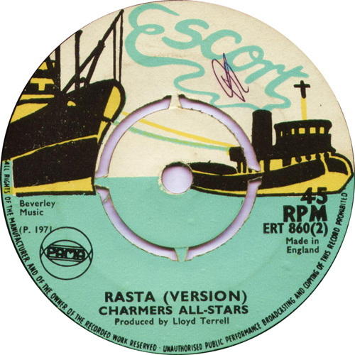 ERT860B The Charmers Band - Rasta Never Fails (Version)