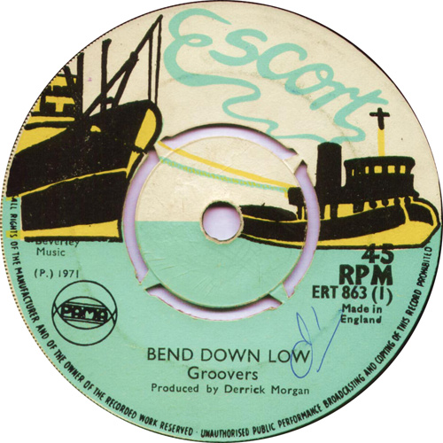 ERT863A The Groovers - Bend Down Low
