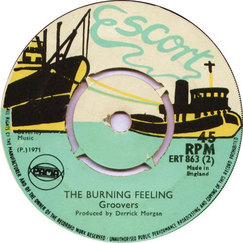 ERT863B The Groovers - The Burning Feeling