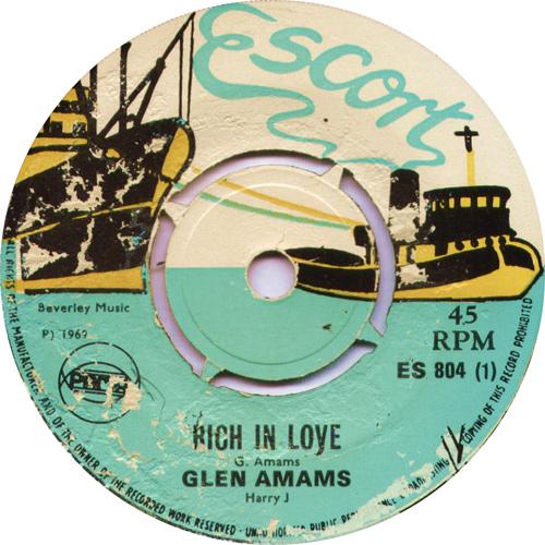 ES804A Glen Adams - Rich In Love