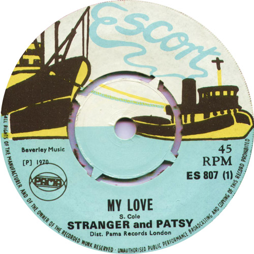 ES807A Stranger And Patsy - My Love