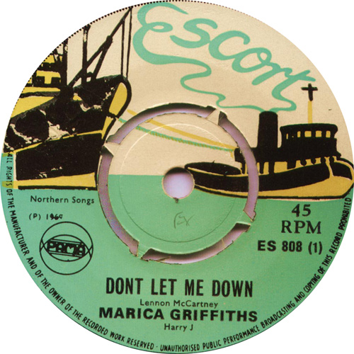 ES808A Marcia Griffiths - Don't Let Me Down