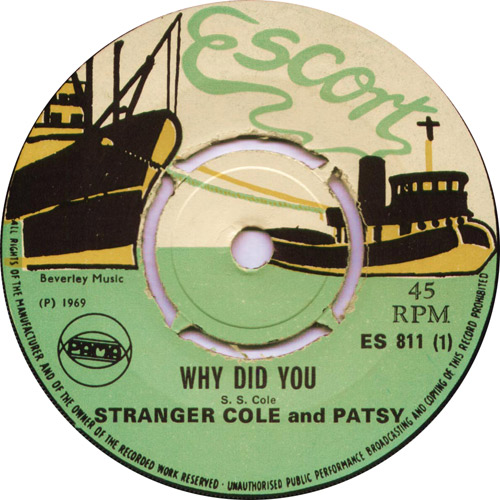 ES811A Stranger And Patsy - Why Did You