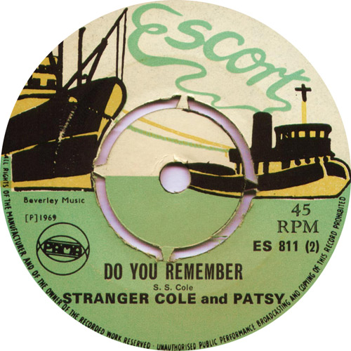 ES811B Stranger And Patsy - Do You Remember