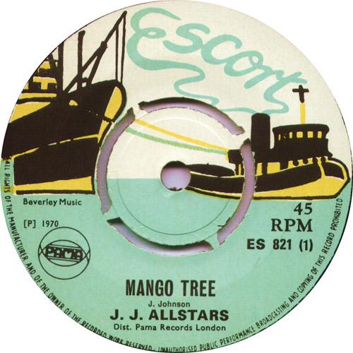 ES821A The JJ All Stars - Mango Tree