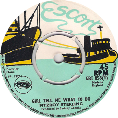 Fitzroy Stirling - Girl Tell Me What To Do