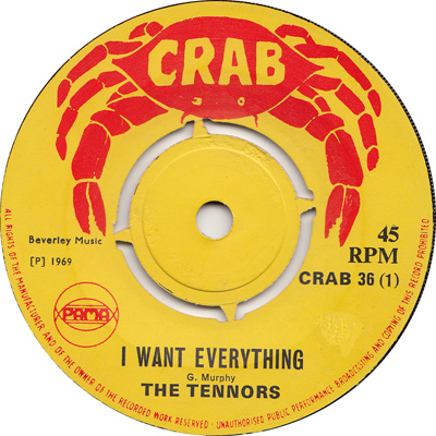 The Tennors - I Want Everything