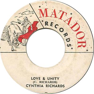 Cynthia Richards – Love And Unity