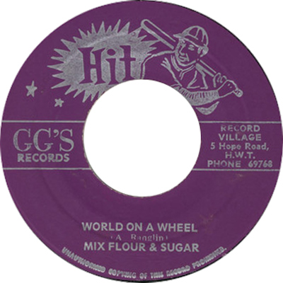 Mix Flour & Sugar - World On A Wheel