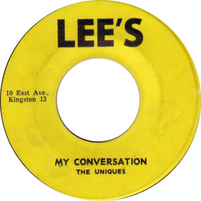 The Uniques - My Conversation