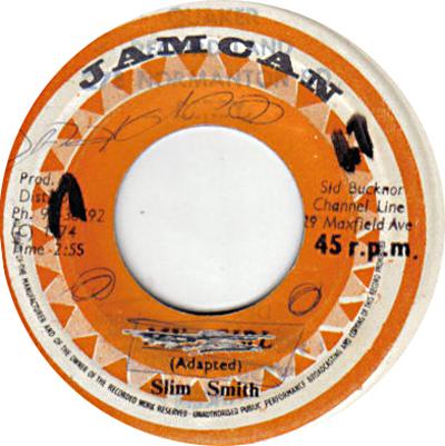 Slim Smith - My Girl