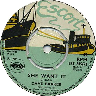 ERT 845-2 Dave Barker - She Want It