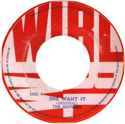 The Gaylads - She Want It