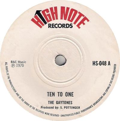 The Gaytones - TenTo One