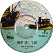 ES 805-1 Tony Scott - What Am I To Do