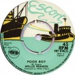 ERT848B Willie Francis - Poor Boy