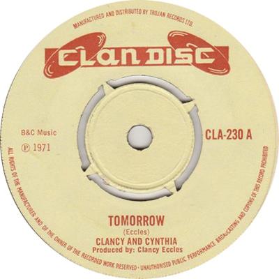 Clancy & Cynthia - Tomorrow