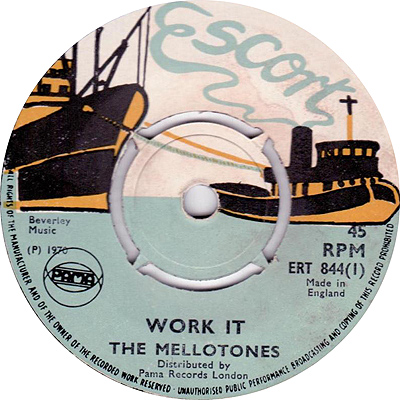 The Mellotones - Work It