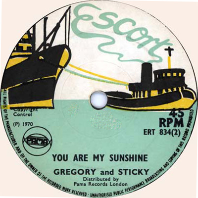 Gregory And Sticky - You Are My Sunshine