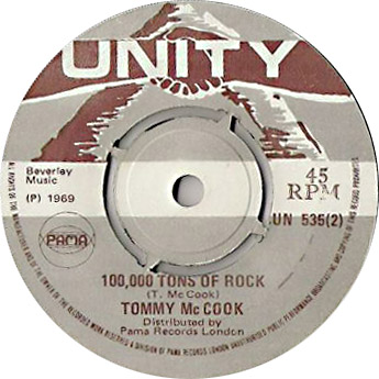 Tommy McCook - 100,000 Tons Of Rock