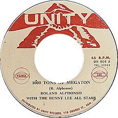 Roland Alphonso - 1000 Tons Of Megaton
