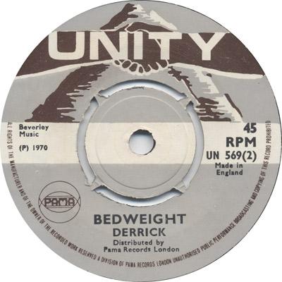 Derrick  - Bedweight