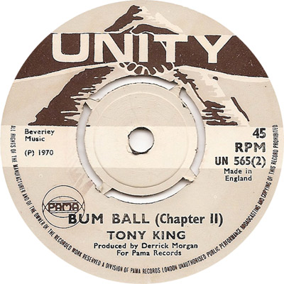 Tony King - Bum Ball (Version 2)