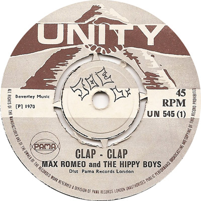 Max Romeo And The Hippy Boys - Clap Clap