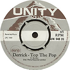 Derrick Morgan - Derrick Top-The-Pop
