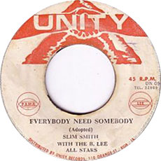 Slim Smith – Everybody Needs Love AKA Somebody To Love