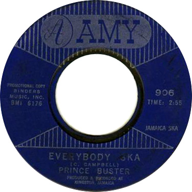 Prince Buster And The All Stars – Everybody Ska