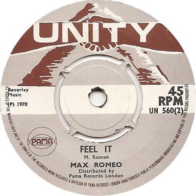 Max Romeo - Feel It