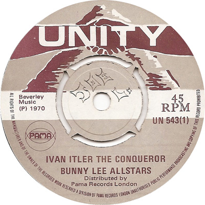 Lloyd Willis And Bunny Lee\'s All Stars - Ivan Itler The Conquerer