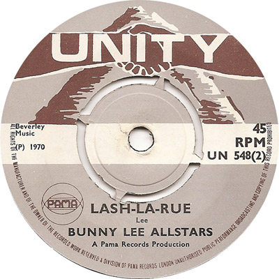 Bunny Lee All Stars - Lash-La-Rue